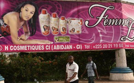 Bờ Biển Ngà cấm bán các loại kem làm trắng da