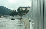 Chống lũ phong cách Sơn Tinh Thủy Tinh ở Áo: Nước dâng đến đâu tường cao lên đến đó