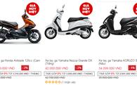 Nhiều xe máy bị bán chênh giá hàng triệu đồng trên Lazada