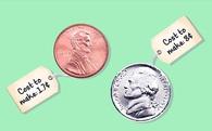 Vì sao chân dung trên đồng xu là hình bán diện còn trên tiền giấy là hình trực diện?