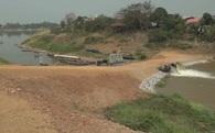 Hạn hán nặng, Thái Lan hút nước từ sông Mekong đổ vào sông riêng
