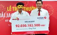 Doanh thu Vietlot tăng 67% sau khi trao thưởng 92 tỷ đồng