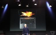Apple ra mắt Macbook Pro mới: Mỏng nhẹ nhất từ trước đến nay, cảm ứng được, có cảm biến vân tay