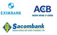 """Bộ 3 quyền lực"" Sacombank – ACB – Eximbank: Ngày ấy, bây giờ"