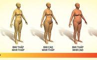 Tỉ lệ eo - hông: chỉ số của sức khỏe