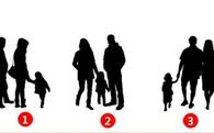 Trong 3 gia đình này, gia đình nào hạnh phúc nhất? Hãy chọn và xem kết quả