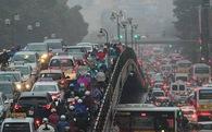 Ùn tắc giao thông 'đốt' của HN gần 13 nghìn tỷ mỗi năm