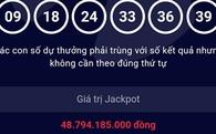 Gần 49 tỷ đồng giải thưởng Vietlott có chủ ngày đầu năm mới