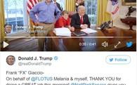Cậu bé 11 tuổi gây bão mạng vì cắt cỏ ở Nhà Trắng, tổng thống Trump đứng cạnh cũng không biết