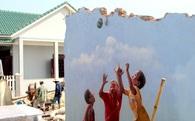 Nhiều tranh tường ở làng bích họa đầu tiên của Việt Nam bị phá dỡ