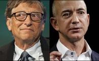 Ngôi vị giàu nhất thế giới giữa Bill Gates và Jeff Bezos đã được định đoạt bằng đám mây