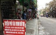 Những hình ảnh lạ lẫm ngày đầu ra quân dẹp vỉa hè ở Hà Nội