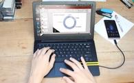 Mirabook, dự án phát triển thiết bị biến smartphone thành laptop đang được gây quỹ trên Indiegogo