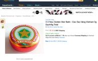 Cao Sao Vàng của Việt Nam đắt hàng trên Amazon, dù giá bán tăng gấp 80 lần