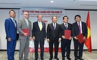 Thủ tướng chứng kiến lễ trao các bản ký kết nhiều tỷ USD của doanh nghiệp Việt - Mỹ