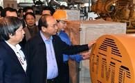 Thủ tướng thị sát công nghệ điện rác đầu tiên tại Việt Nam