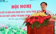 Phó Thủ tướng Vương Đình Huệ: Cần xoá bỏ tín dụng dụng đen