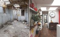 Từ khu nhà vệ sinh bẩn thỉu hoang phế gần 40 năm, nữ KTS người Anh đã cải tạo nó thành căn nhà đẹp đến khó tin