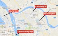 4 cây cầu mới trị giá gần 2 tỷ USD sắp xây tại Hà Nội