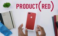 Đã có video mở hộp iPhone 7 màu đỏ đầu tiên trên thế giới