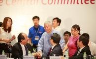 Tổng biên tập 90 tuổi cũng tới tham dự Diễn đàn kinh tế tư nhân Việt Nam 2017