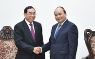 Việt Nam và Lào sẽ làm cao tốc Hà Nội - Vientiane