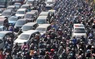 Hà Nội thông qua kế hoạch cấm xe máy trong nội thành kể từ 2030
