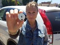 Thiết bị có thể giúp bạn tìm được xe của mình nhanh chóng chỉ bằng smartphone