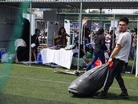 Hội chợ container: Vừa khai mạc đã bị phong toả