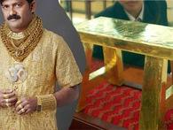 Dân chơi siêu giàu mê vàng đến độ... giấy toilet cũng làm bằng vàng