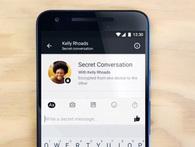 """Bắt chước Snapchat, Telegram - Facebook thử nghiệm tính năng hội thoại """"bí mật"""""""
