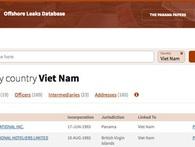 Hồ sơ Panama: Đã khớp nối được một số cá nhân, DN Việt Nam