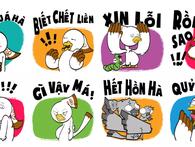 """Dân văn phòng hãy tải về ngay bộ sticker tiếng Việt """"Chội Ôi"""", """"Quỷ Sứ Hà"""" trên Facebook"""