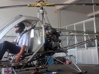Trực thăng tự chế của kỹ sư 'hai lúa' cất cánh thành công