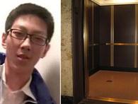 """Cách xử trí """"lạ"""" của cậu học trò bị kẹt 5 tiếng trong thang máy khiến mọi người thán phục"""