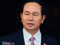 Giới thiệu đại tướng Trần Đại Quang làm Chủ tịch nước