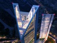 Dự án tòa nhà hình V của Vietinbank sẽ hoàn thiện muộn nhất vào đầu năm 2018