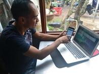 Sản xuất rau sạch bằng điện thoại ở Đà Lạt