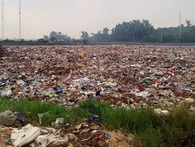 Thí điểm mô hình chôn lấp rác thải kiểu Nhật ở Hà Nội