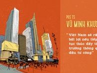 TS Vũ Minh Khương: Đẩy tăng trưởng bằng tăng cung tiền, giảm lãi suất giống như thúc người áp huyết cao ăn nhiều thịt bò
