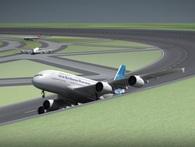 Đây là giải pháp không tưởng để khắc phục tình trạng thiếu diện tích làm sân bay: đường băng hình tròn