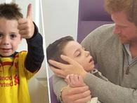 Tấm lòng ấm áp và tốt bụng của Hoàng tử Anh khiến nhiều người xúc động