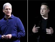 Bạn sẽ rất bất ngờ khi biết Tim Cook muốn chạy đua tên lửa cùng Elon Musk