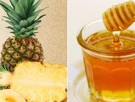 HIệu quả đáng ngạc nhiên nếu mỗi sáng uống một ly nước dứa pha với mật ong