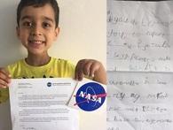 Cậu bé 4 tuổi gửi thiết kế tên lửa cho NASA và lá thư em nhận được khiến mọi người vô cùng cảm động