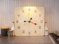 Bảo bối bước ra từ truyện Harry Potter: Chiếc đồng hồ có thể báo vị trí của từng thành viên trong nhà