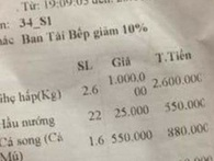 """Nhà hàng ở Sầm Sơn nói về việc bị tố """"chặt chém"""" giá ghẹ 1 triệu đồng/kg"""