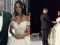 Đám cưới xa hoa nhất 2017: Đại gia khét tiếng kết hôn cùng người mẫu nóng bỏng, nhẫn cưới có giá hơn 200 tỷ đồng