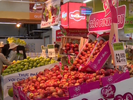 Ma trận tem dán trái cây nhập khẩu