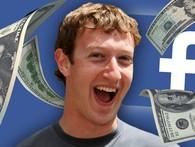 Mark Zuckerberg vừa kiếm được 3 tỷ USD sau 1 đêm